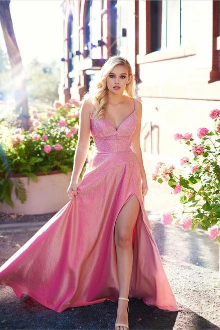 Ellie Wilde by Mon Cheri EW121001 Sleeveless A-Line Gown