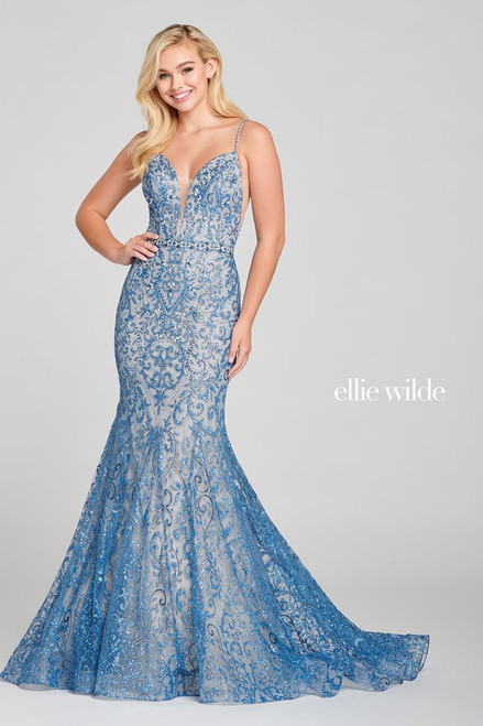 Ellie Wilde by Mon Cheri EW121045 Sleeveless Mermaid Gown