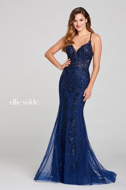 Ellie Wilde by Mon Cheri EW121054 Sleeveless Mermaid Gown