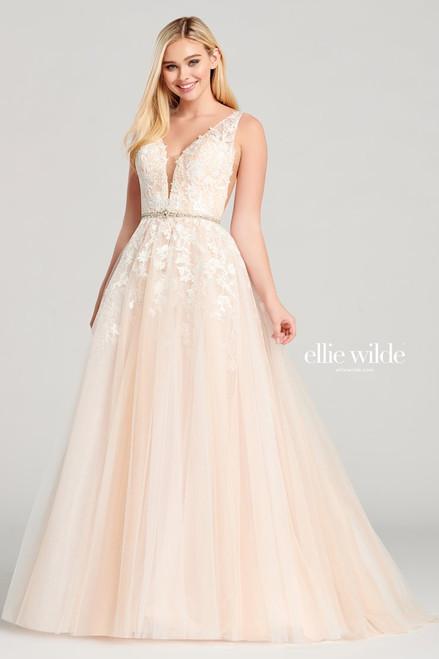 Ellie Wilde by Mon Cheri EW22040 Sleeveless A-line Gown