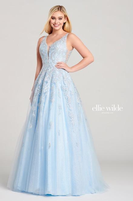Ellie Wilde by Mon Cheri EW22045 Sleeveless A-line Gown
