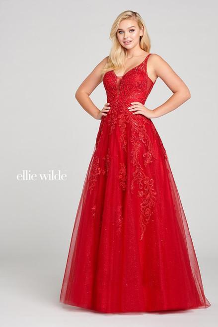 Ellie Wilde by Mon Cheri EW121003 Sleeveless Tulle Ball Gown