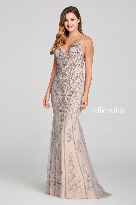 Ellie Wilde by Mon Cheri EW121020 Sleeveless Tulle Gown