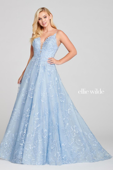 Ellie Wilde by Mon Cheri EW121023 Sleeveless A-line Gown