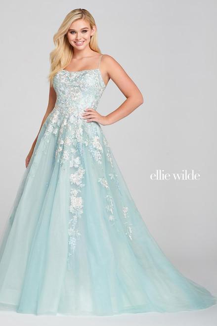Ellie Wilde by Mon Cheri EW121027 Sleeveless A-line Gown