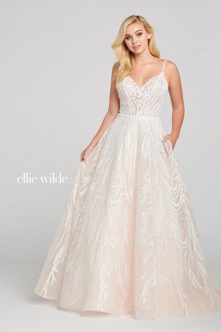 Ellie Wilde by Mon Cheri EW121061 Sleeveless Ball Gown
