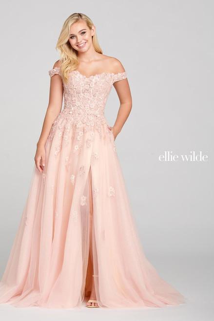 Ellie Wilde by Mon Cheri EW121063 Beading A-line Gown