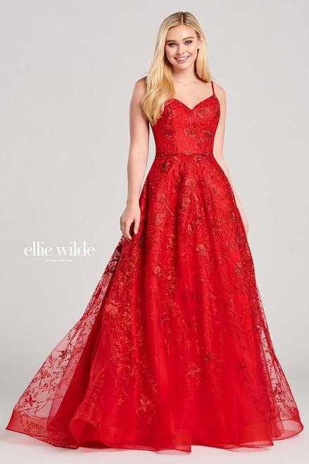 Ellie Wilde by Mon Cheri EW22015 Sleeveless Embroidered Gown