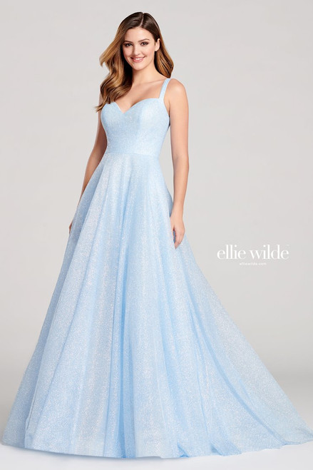 Ellie Wilde by Mon Cheri EW22042 Sleeveless A-line Gown