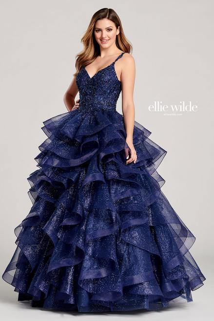 Ellie Wilde by Mon Cheri EW22056 Sleeveless V-neck Ball Gown