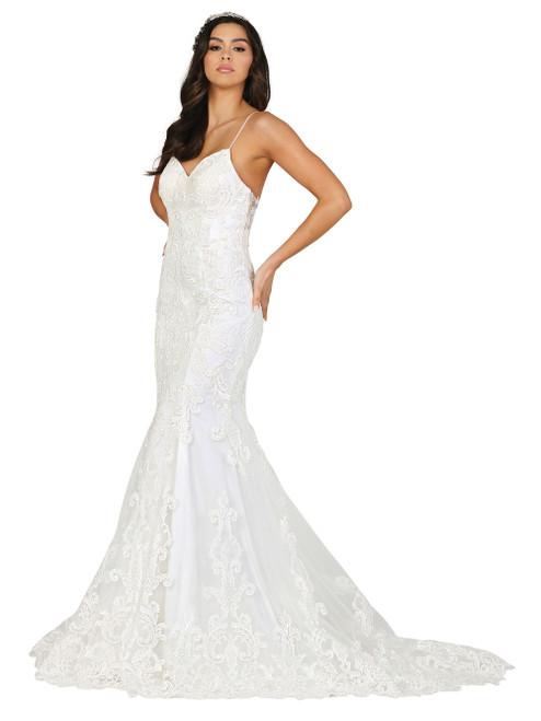 Dancing Queen 0118 Embroidered Sweetheart Mermaid Dress