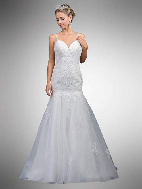 Dancing Queen 0036 Sleeveless Beaded Sweetheart Long Dress