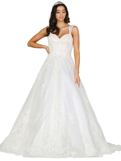 Dancing Queen 0117 Embroidered Sweetheart A-line Dress