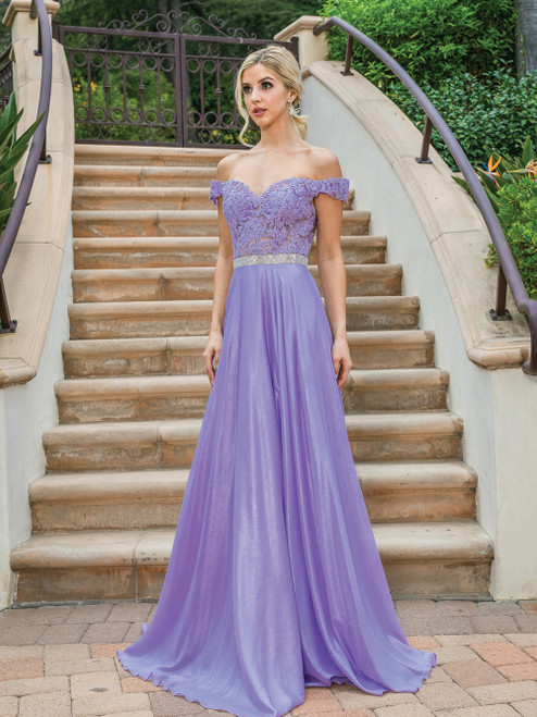 Dancing Queen 4238 Short Sleeve Bodice Silhouette Dress