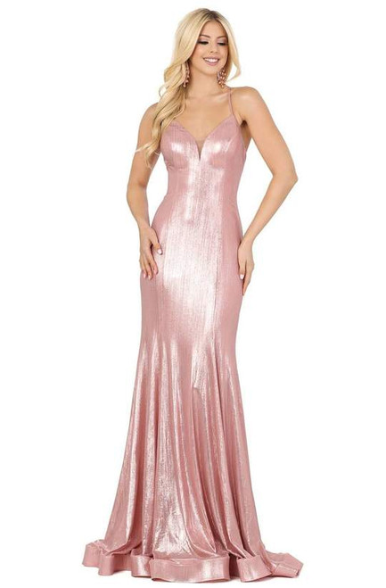 Dancing Queen 4073 Sleeveless Spaghetti Straps Long Gown