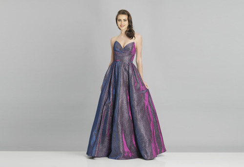 Dave & Johnny A8357 Sleeveless Long Prom Dress