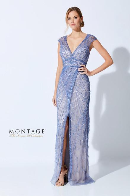 Ivonne D by Mon Cheri 221D44 V-Neck Sleeveless Beading Dress