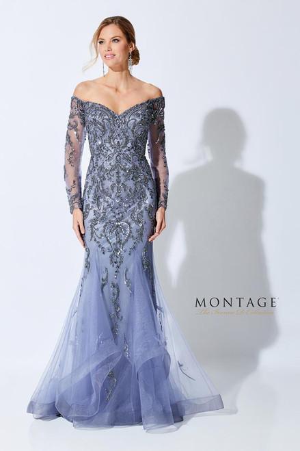 Ivonne D by Mon Cheri 221D48 V-Neck Off Shoulder Dress