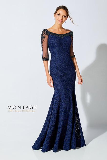 Ivonne D by Mon Cheri 221D52 Three-Quarter Sleeves Dress