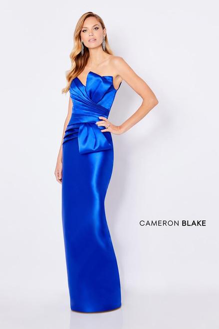 Cameron Blake by Mon Cheri 221689 Strapless V-neck Gown