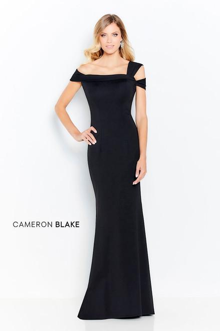 Cameron Blake by Mon Cheri 120604 Off Shoulder Heavy Gown