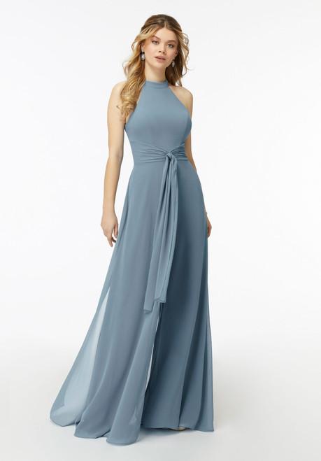 Morilee Bridesmaids 21723 Chiffon Flutter Sleeve Dress