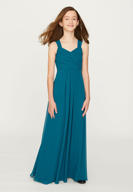 Morilee Bridesmaids 13201 Ruched Bodice Chiffon Junior Dress