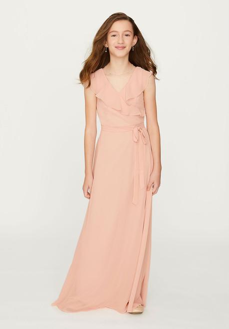 Morilee Bridesmaids 13202 Flutter Sleeve Junior Dress