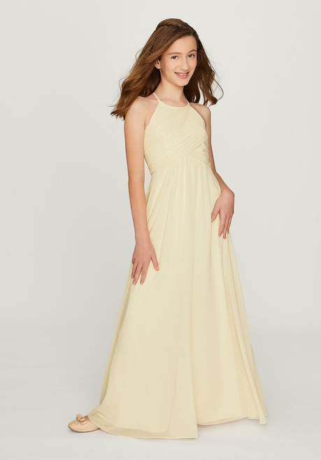 Morilee Bridesmaids 13203 Draped Sleeves Junior Dress