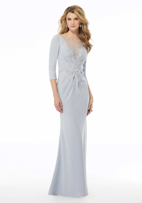 Morilee MGNY 72115 Three-dimensional Beaded Evening Gown