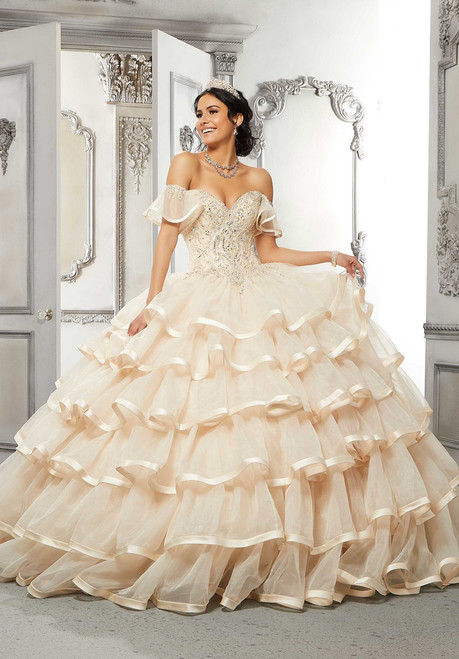 Morilee 89322 Crystal Beaded Embroidered Quinceanera Dress