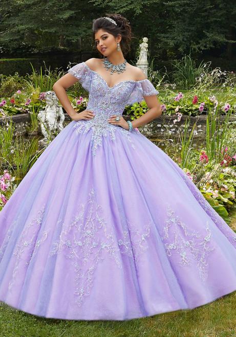 Morilee 89271 Rhinestone Crystal Beading Quinceanera Ballgown