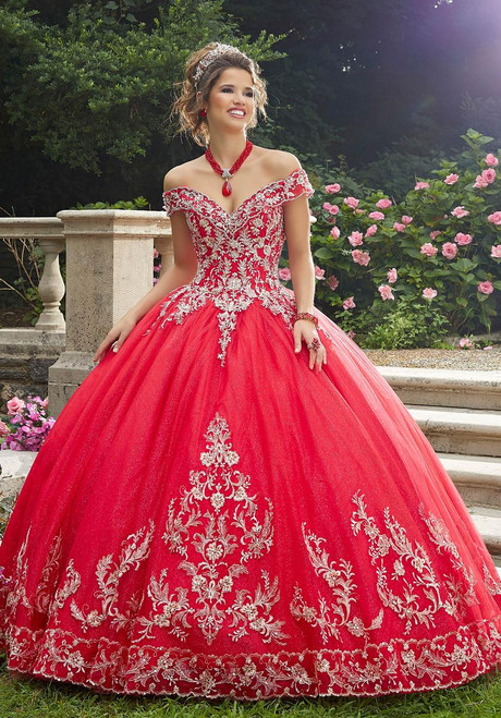 Morilee 89275 Crystal Beading Sparkle Tulle Quinceanera Dress