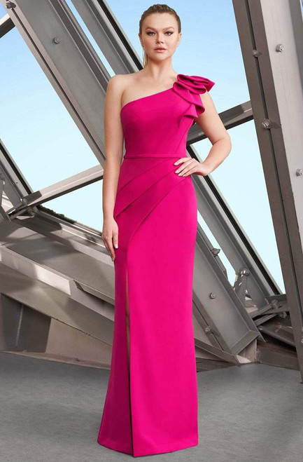 Alexander by Daymor 1174 Sleeveless One Shoulder Long Gown
