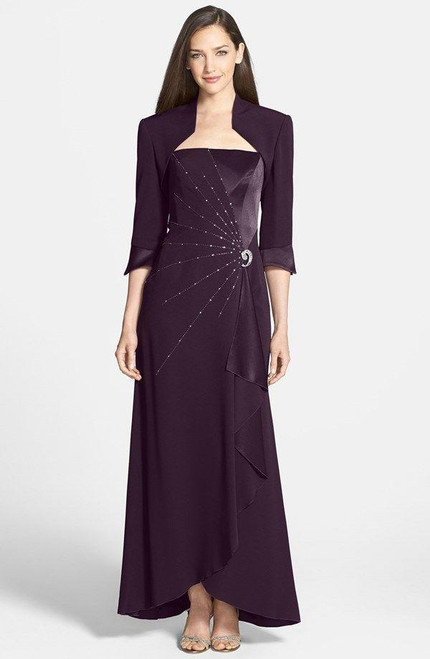 Alexander by Daymor 2006 Sleeveless Beaded Embellished Gown