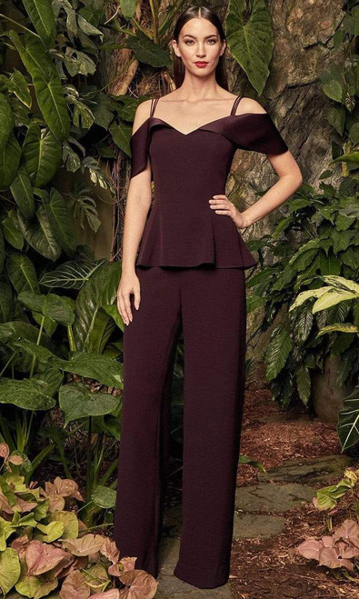 Alexander by Daymor 990A Off Shoulder Top With Pants