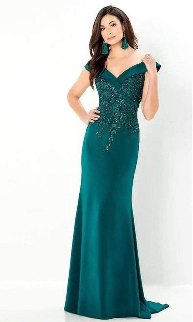 Montage by Mon Cheri 220932 Lace Applique & Beading Dress