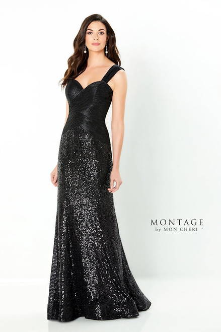 Montage by Mon Cheri 220937 Sweetheart Fit and Flare Dress