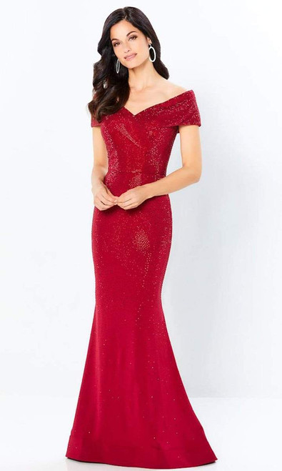 Montage by Mon Cheri 220949 Embellished Bodice V-neck Gown