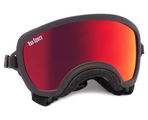 Rex Specs Small WIDE-Black/RED REVO