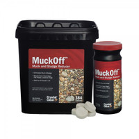 Muckoff by Crystal Clear, an Airmax product tat fights muck and sludge and digests organic waste and buildup in a water garden or ponds | Pond and Garden Depot