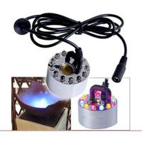 Ocean Mist DH24B 1 Disc Ultrasonic Fogger / Mister w/ 12 Multi-color LED lights DH-24B(RBG)