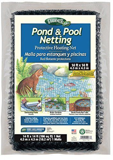 Dalen Gardener Pond and Pool Netting for predator control this net keeps cats and herons out of your water garden   Pond and Garden Depot