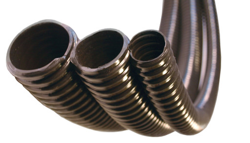 Corrugated PVC hose is the standard for pond and water garden applications, Kink free for maximum flow and ribbed tubing construction for reliability   Pond and Garden Depot