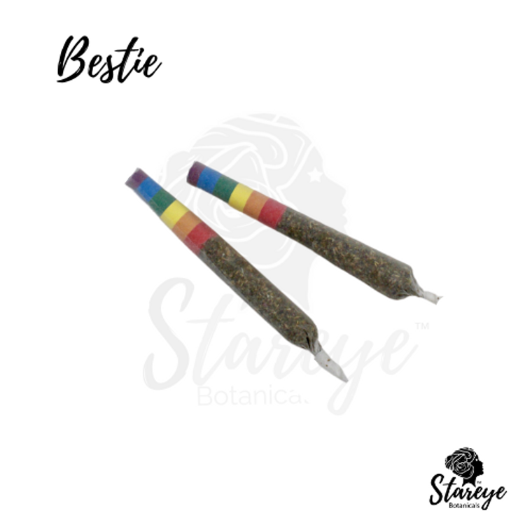 Stareye Botanicals' Royal Love Bestie. Smokable hemp blends.