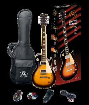 ESSEX  Beginners LP Style Electric Guitar & Amp Pack  Vintage Sunburst