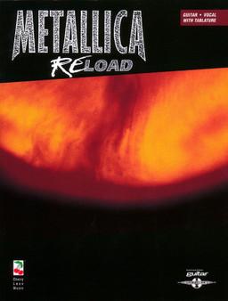 METALLICA - RELOAD GUITAR TAB SHEET MUSIC BOOK