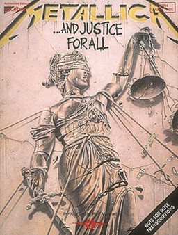 METALLICA - AND JUSTICE FOR ALL GUITAR TAB SHEET MUSIC BOOK