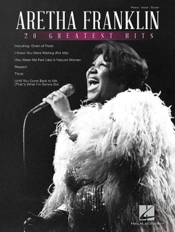20 GREATEST HITS PVG SHEET MUSIC BOOK
