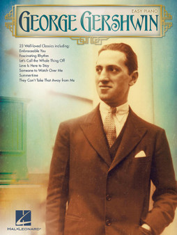 GEORGE GERSHWIN FOR EASY PIANO SHEET MUSIC BOOK